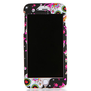 Hülle Für Apple iPhone 7 / iPhone 7 Plus Muster Ganzkörper-Gehäuse Totenkopf Motiv Hart PC für iPhone 7 Plus / iPhone 7 / iPhone 6s Plus