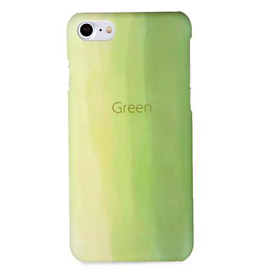 Maska Pentru iPhone 7 Plus iPhone 7 iPhone 6s Plus iPhone 6 Plus iPhone 6s iPhone 6 Apple Model Capac Spate culoare Gradient Greu PC