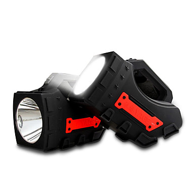 Yage φορητό φως οδήγησε προβολείς κάμπινγκ 1pcs φακός huntight φορητό φώτα της δημοσιότητας χειρός φωτισμός spotlight 2500mah μπαταρία