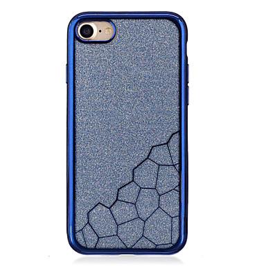 Varten Pinnoitus Läpinäkyvä Etui Takakuori Etui Geometrinen printti Pehmeä TPU varten AppleiPhone 7 Plus iPhone 7 iPhone 6s Plus iPhone 6