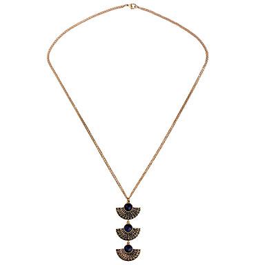 Γυναικεία Κρεμαστά Κολιέ Κρυστάλλινο Πεπαλαιωμένο Εξατομικευόμενο Euramerican Χρυσό Κοσμήματα Για Γάμου Πάρτι 1pc
