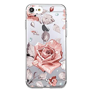 Kılıflar Kapaklar Apple için Arka Kılıf Ultra İnce Temalı Çiçek Yumuşak TPU iPhone 7 Plus iPhone 7 iPhone 6s Plus iPhone 6 Plus iPhone 6s
