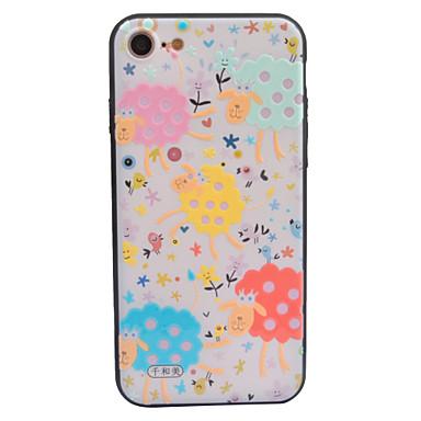 Για Θήκες Καλύμματα Ανάγλυφη Με σχέδια Πίσω Κάλυμμα tok Κινούμενα σχέδια Σκληρή Ακρυλικό για AppleiPhone 7 Plus iPhone 7 iPhone 6s Plus