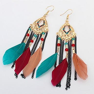 Ανδρικά Γυναικεία Κρεμαστά Σκουλαρίκια Κοσμήματα Εξατομικευόμενο Μοναδικό Κρεμαστό Κλασσικό Βίντατζ Μποέμ Βασικό Σέξι Καρδιά Κύκλος Φιλία