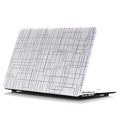 MacBook Kotelo varten Geometrinen printti PVC materiaali Uusi MacBook Pro 15