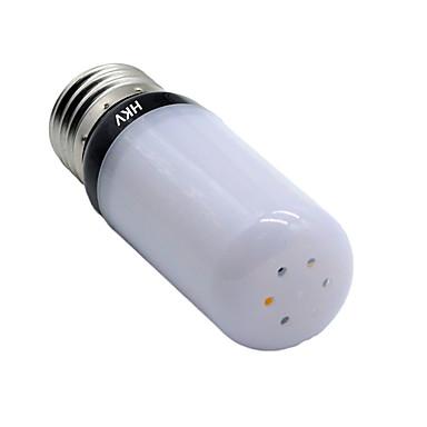 HKV 5 W 400-500 lm E14 E26/E27 LED Λάμπες Καλαμπόκι 30 leds SMD 5736 Θερμό Λευκό Ψυχρό Λευκό AC 220-240V