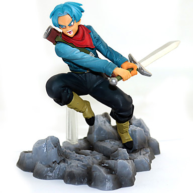 Rysunki Anime akcji Zainspirowany przez Dragon Ball Goku PVC (polichlorek winylu) CM Klocki Lalka Zabawka