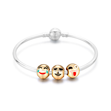 Damen Strang-Armbänder Freundschaft Modisch Aleación Runde Form Schmuck Für Weihnachts Geschenke 1 Stück