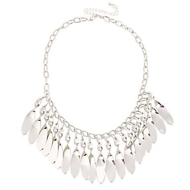 Kadın's Geometric Shape Eşsiz Tasarım Sallantılı Stil Çoklu yolları Wear İfade Takıları minimalist tarzı Açıklama Kolye Mücevher Açıklama
