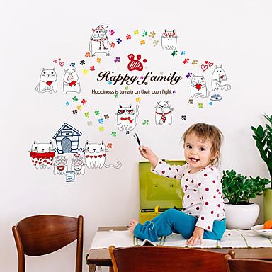 Animale Cuvinte & Citate Modă Perete Postituri Autocolante perete plane Autocolante de Perete Decorative,Hârtie MaterialPagina de