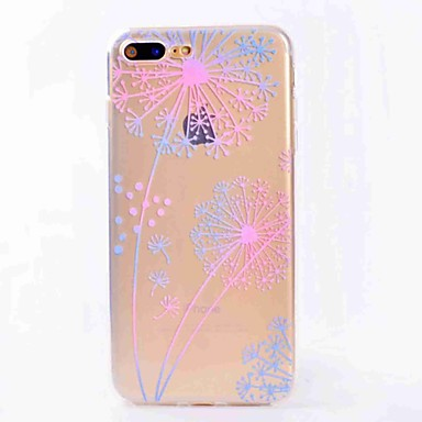 hoesje Voor iPhone 7 Plus iPhone 7 iPhone 6s Plus iPhone 6 Plus iPhone 6s iPhone 6 iPhone 5 Apple Doorzichtig Patroon Achterkant