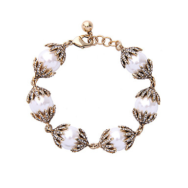 Dames Strand Armbanden Vriendschap Modieus Legering Cirkelvorm Bladvorm Sieraden Voor 1 stuks