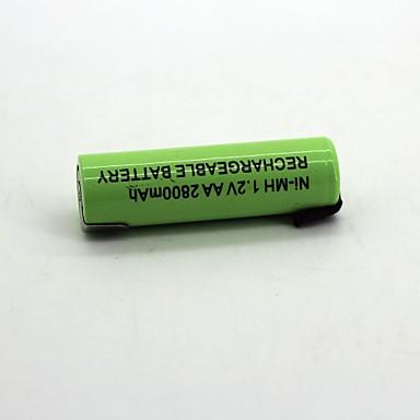 1pcs ni-mh baterie 1.2v aa2800mah baterie reîncărcabilă de înaltă calitate