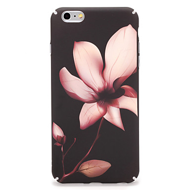Dla jabłko iphone 7 7plus obudowa okładka pokrywa tylna pokrywa sprawa kwiat twardy komputer 6s plus 6 plus 6s 6
