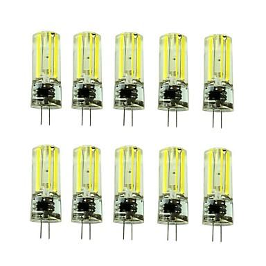 3W G4 أضواء LED Bi Pin T 1 المصابيح COB ديكور أبيض دافئ أبيض كول 430-550lm 2700-3500/6000-6500K AC220V