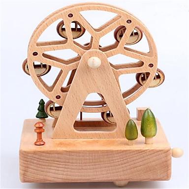 Spieluhr Spielzeuge Kreisförmig Holz 1 Stücke Unisex Geschenk