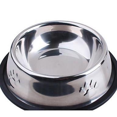 كلب مغذيات حيوانات أليفة السلطانيات والتغذية فضي