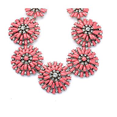 Pentru femei Lănțișoare Cristal Personalizat Euramerican Floral Bijuterii Pentru Nuntă Petrecere