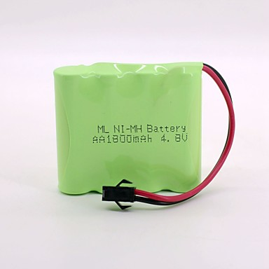 ni-mh baterie 1800mah aa 4.8v sm cap de înaltă calitate (culoare verde)