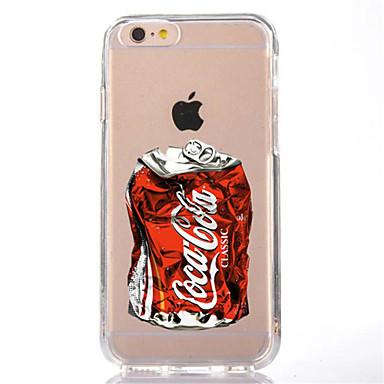 hoesje Voor Apple iPhone X iPhone 8 Transparant Patroon Achterkantje Cartoon Zacht TPU voor iPhone X iPhone 7s Plus iPhone 8 iPhone 7