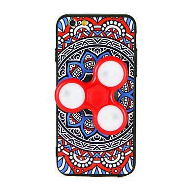 Hülle Für iPhone 7 plus iPhone 7 iPhone 6s Plus iPhone 6 Plus iPhone 6s iPhone 6 Apple Handkreisel Muster Heimwerken Rückseite Mandala 3D