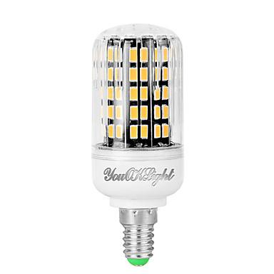 6W 400 lm E12 LED Mısır Işıklar T 108 led SMD 5733 Serin Beyaz AC 85-265V
