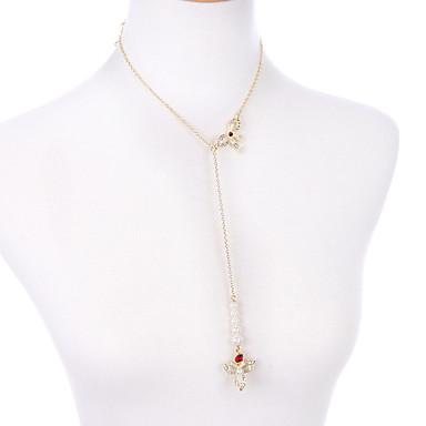 Pentru femei Coliere cu Pandativ Bowknot Shape Design Unic Personalizat Alb Bijuterii Pentru 1 buc