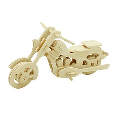 3D - Puzzle Spielzeuge Motorrad Holz Unisex Stücke