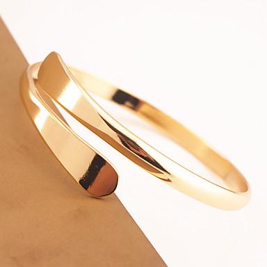 economico Bracciali-Per donna Bracciali a polsino Con animale Donne Di tendenza Rame Gioielli braccialetto Oro / Argento Per Occasioni speciali
