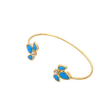 Γυναικεία Βραχιόλια Μοντέρνα Κράμα Leaf Shape Κοσμήματα Για Χριστουγεννιάτικα δώρα