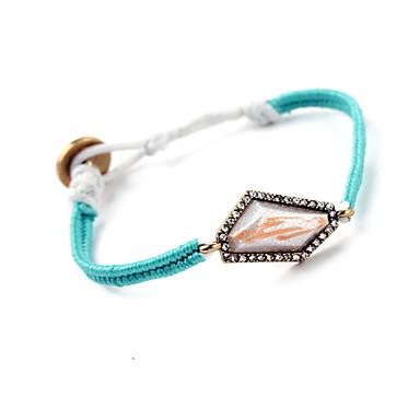 Kadın's Zincir & Halka Bileklikler Mücevher Arkadaşlık lüks mücevher alaşım Geometric Shape Mücevher Için Parti Özel Anlar 1pc