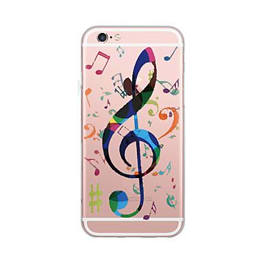 hoesje Voor Apple Ultradun Patroon Achterkantje Woord / tekst Zacht TPU voor iPhone 7 Plus iPhone 7 iPhone 6s Plus iPhone 6 Plus iPhone
