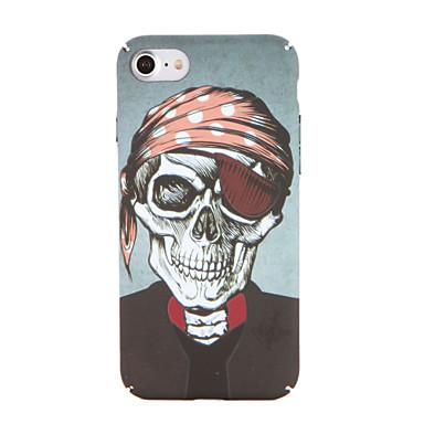 Maska Pentru Apple iPhone 7 Plus iPhone 7 Model Capac Spate Cranii Greu PC pentru iPhone 7 Plus iPhone 7 iPhone 6s Plus iPhone 6s iPhone