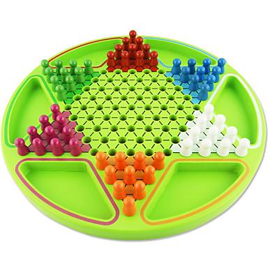 Bretsspiele Spielzeuge Große Größe Kreisförmig Holz Stücke Unisex Geschenk