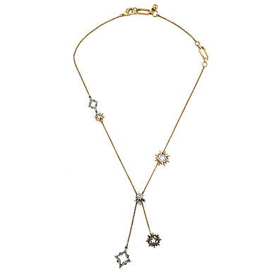 Kadın's Uçlu Kolyeler Eşsiz Tasarım Euramerican Altın Mücevher Için Günlük Yılbaşı Hediyeleri 1pc