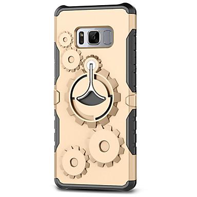 Maska Pentru Samsung Galaxy S8 Plus S8 Anti Șoc Suport Inel Capac Spate armură Greu PC pentru S8 Plus S8 S7 edge S7