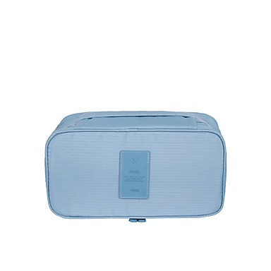 Organizator Bagaj de Călătorie Impermeabil Portabil Depozitare Călătorie pentru Sutiene Haine Nailon / Călătorie