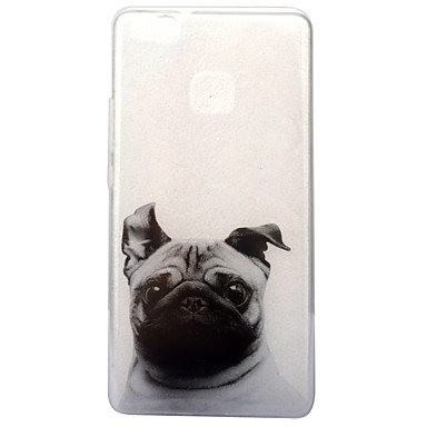 tok Για Huawei P9 Lite Huawei IMD Διαφανής Με σχέδια Πίσω Κάλυμμα Σκύλος Μαλακή TPU για P10 Huawei P9 Lite P8 Lite (2017) Huawei
