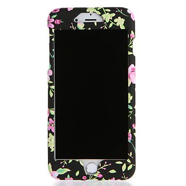Voor apple iphone 7 7plus case cover patroon full body case bloem harde pc 6s plus 6 plus 6s 6