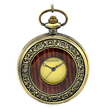 Herrn Totenkopfuhr Taschenuhr Mechanische Uhr Automatikaufzug Legierung Band Bronze