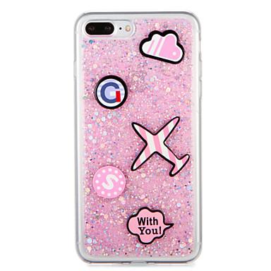 Für Apfel iphone7 7 plus Fallabdeckungsmuster rückseitige Abdeckungsfall glitter Glanzkarikatur weiches tpu 6s plus 6 plus 6s 6