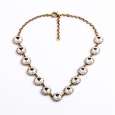 Γυναικεία Σκέλη Κολιέ Round Shape Μοναδικό Λευκό Κοσμήματα Για Καθημερινά 1pc