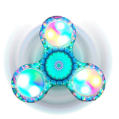 Fidget spinners Hand Spinner Speeltjes Tri-Spinner LED Spinner Focus Toy Relieves ADD, ADHD, Angst, Autisme Stress en angst Relief