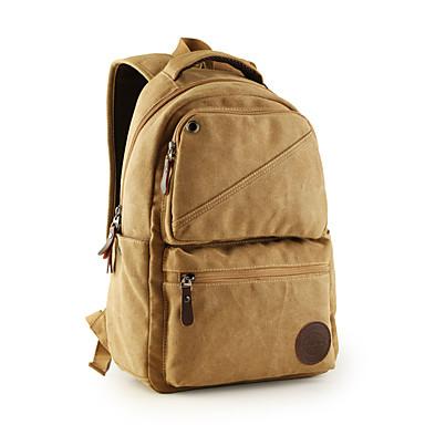 Plecak na Solid Color Płótno Materiał Nowy MacBook Pro 13