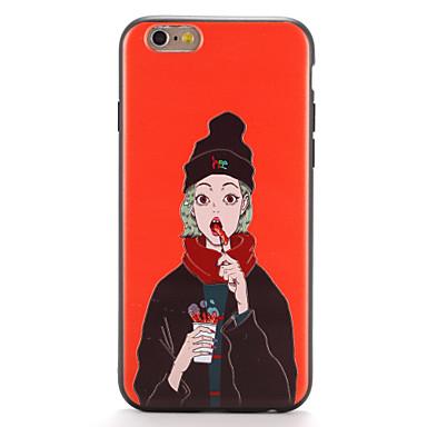 غطاء من أجل Apple iPhone 7 Plus iPhone 7 نموذج غطاء خلفي امرآة مثيرة ناعم TPU إلى iPhone 7 Plus iPhone 7 iPhone 6s Plus ايفون 6s iPhone 6