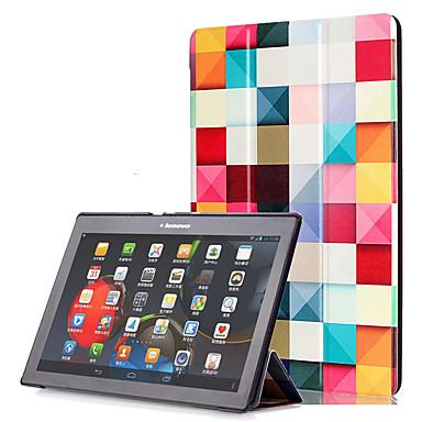 Coque Pour Lenovo Coque Intégrale Cas de la tablette Dur faux cuir pour