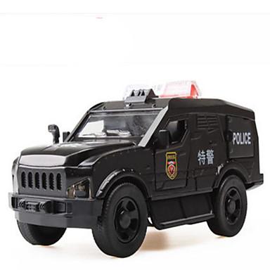 لعبة سيارات ألعاب سيارة الحفريات سيارة الشرطة ألعاب مربع حصان سبيكة معدنية بلاستيك قطع هدية