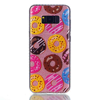 Maska Pentru Samsung Galaxy S8 Plus S8 IMD Model Carcasă Spate Hrană Desene Animate Luciu Strălucire Greu PC pentru S8 S8 Plus S7 edge S7