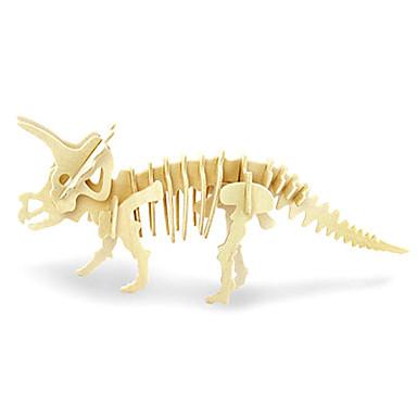 3D - Puzzle Spielzeuge Dinosaurier Holz Unisex Stücke