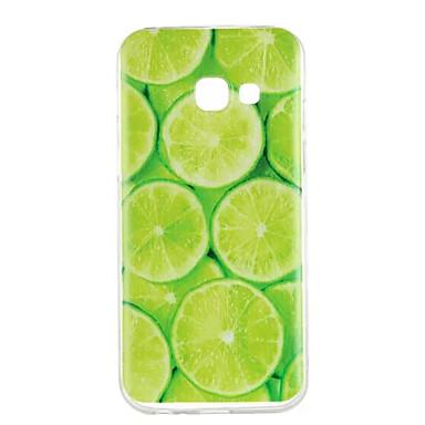 voordelige Galaxy A-serie hoesjes / covers-hoesje Voor Samsung Galaxy A3 (2017) / A5 (2017) / A5(2016) Patroon Achterkant Fruit Zacht TPU